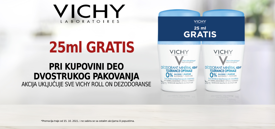 Vichy deo roll on duo-promo