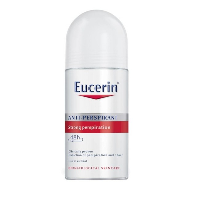 EUCERIN ANTI-PERSPIRANT STRONG ROLL ON 50ML 69613